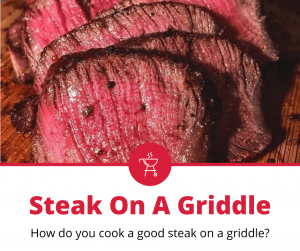 how to cook steak on a griddle
