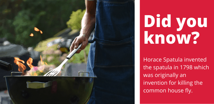 fact about grill spatulas