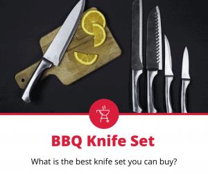 best bbq knife set
