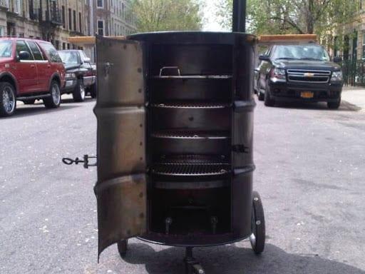 DIY Drum Smoker