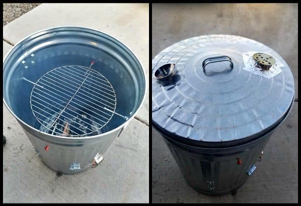 Garbage Can Smoker