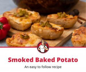 smoked baked potato recipe