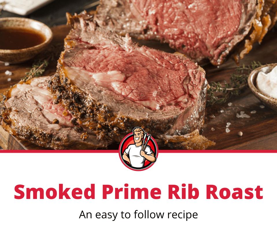 smoked prime rib roast recipe