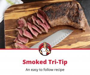 smoked tri-tip recipe